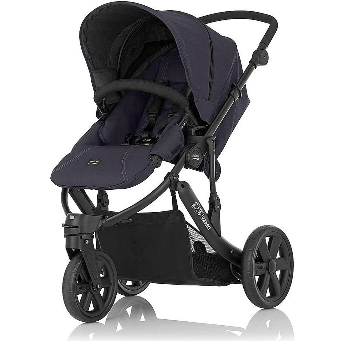 britax b smart 3 wheel stroller pram pushchair buggy. Black Bedroom Furniture Sets. Home Design Ideas
