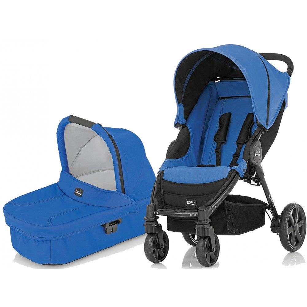 britax b agile 3 in 1 pram pushchair stroller buggy. Black Bedroom Furniture Sets. Home Design Ideas
