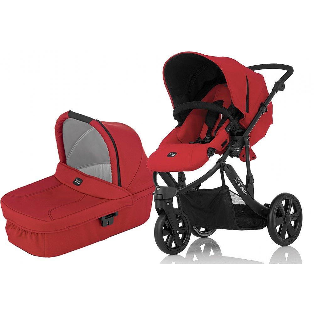 britax b smart 3 in 1 pram pushchair stroller buggy. Black Bedroom Furniture Sets. Home Design Ideas