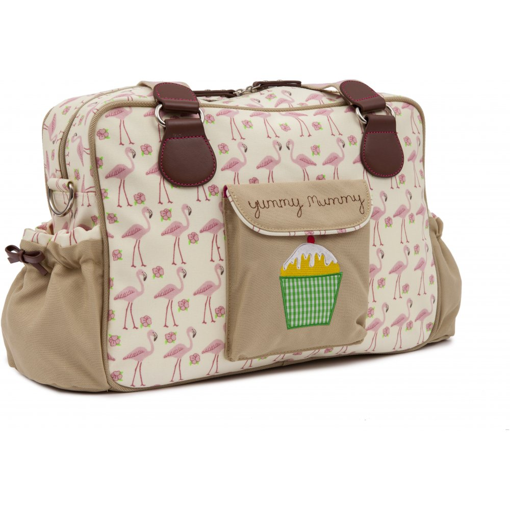 pink lining yummy mummy flamingo walk changing bag. Black Bedroom Furniture Sets. Home Design Ideas