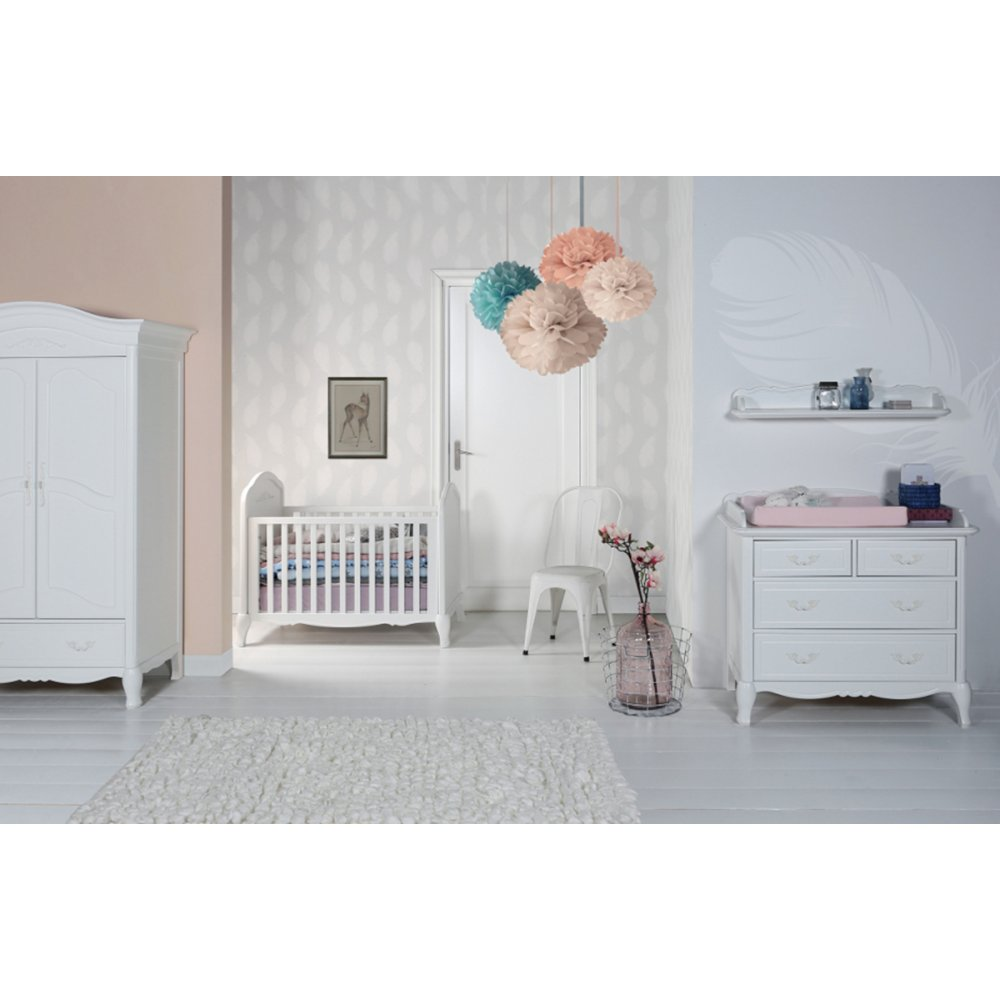 Nursery Furniture : Kidsmill Claudia Nursery Furniture Set