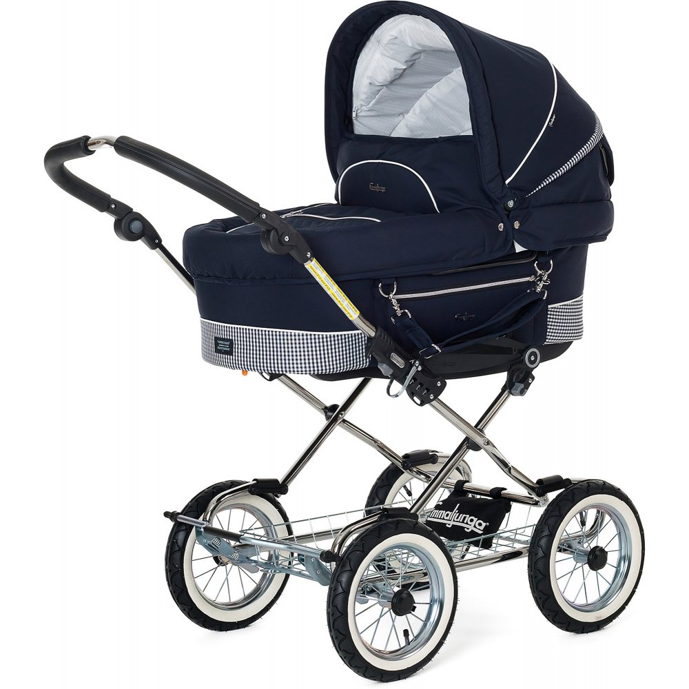 Emmaljunga Mondial Duo Combi Pram Available From W H Watts