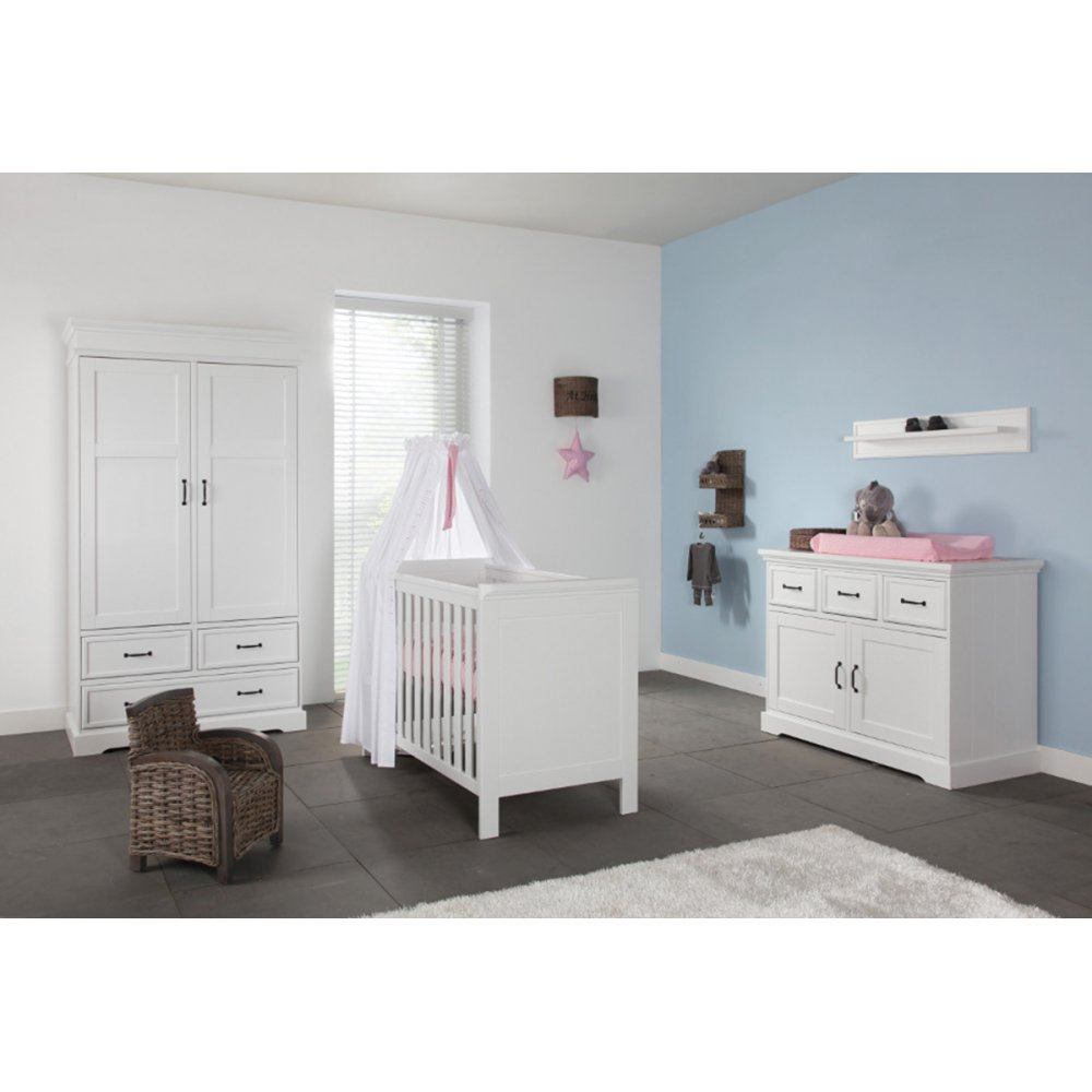 Nursery Furniture : Kidsmill Savona Nursery Furniture Set