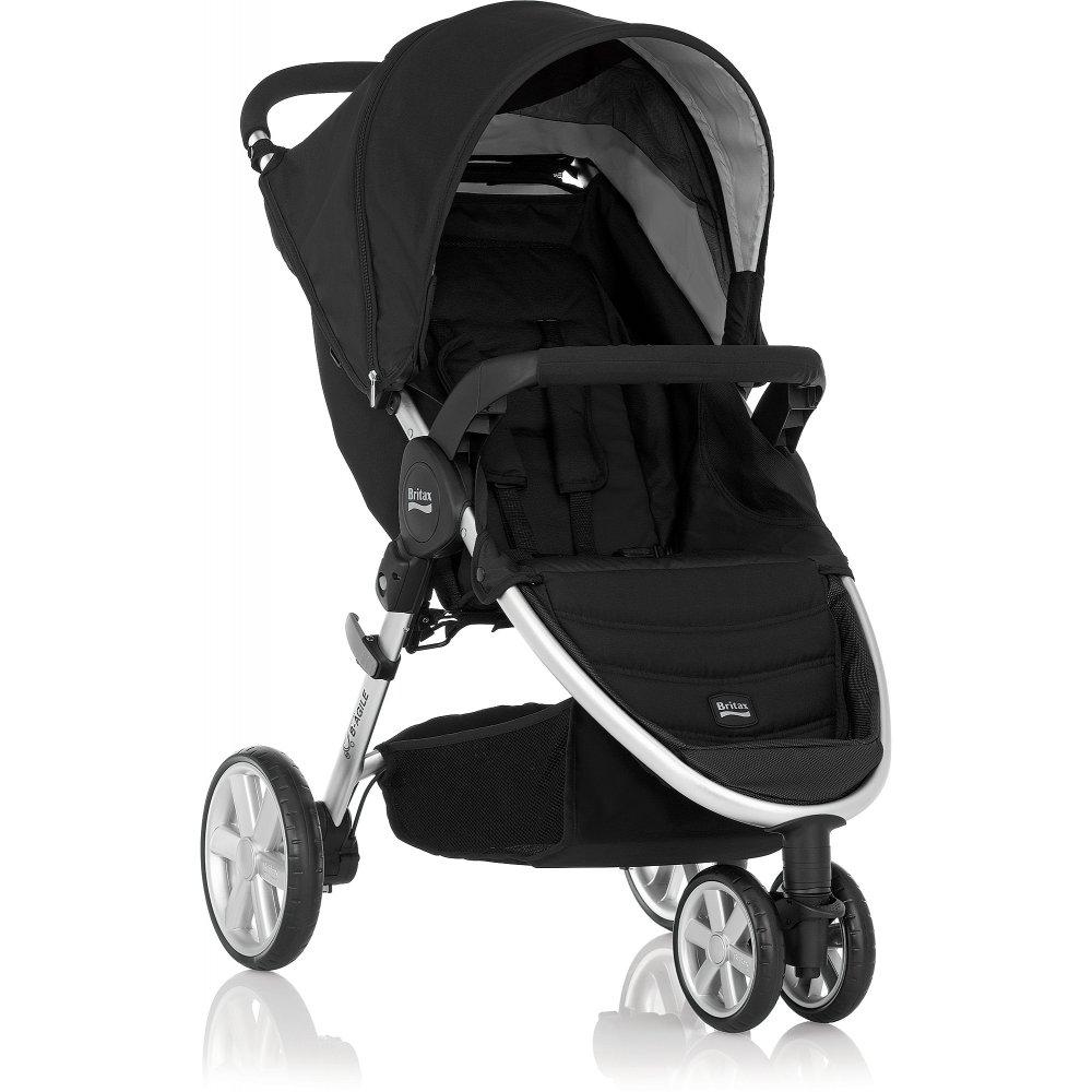 britax b agile 3 pushchair neon black pram stroller buggy. Black Bedroom Furniture Sets. Home Design Ideas
