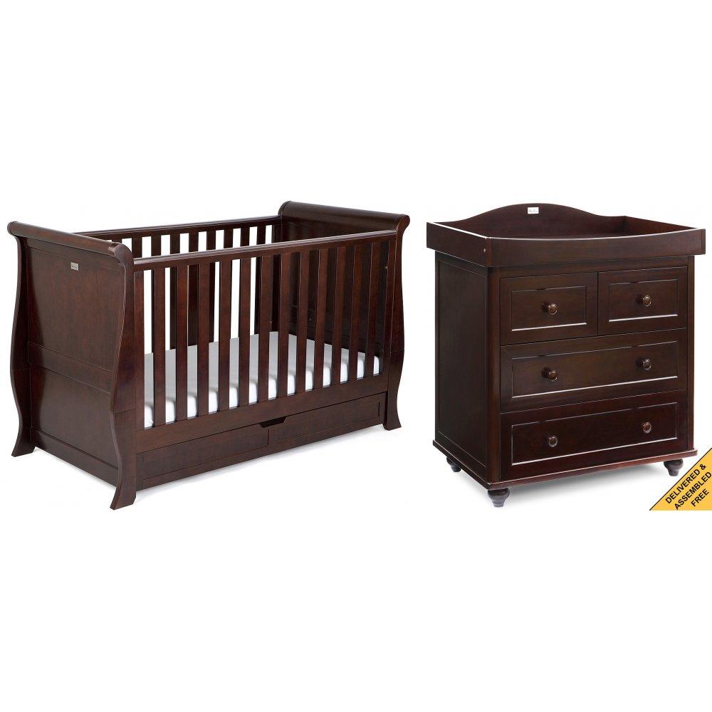 silver cross dorchester 2 nursery furniture set