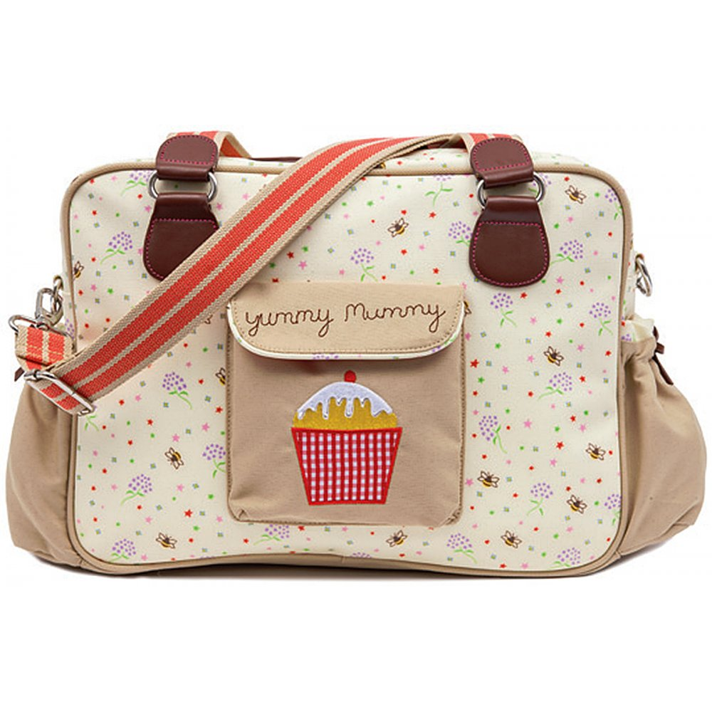 pink lining yummy mummy bumble bees stardust changing bag. Black Bedroom Furniture Sets. Home Design Ideas