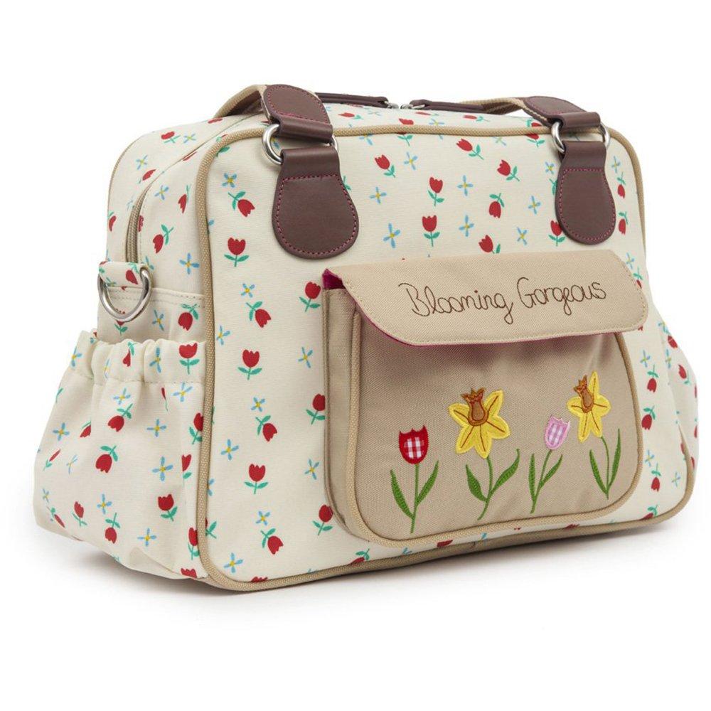 pink lining blooming gorgeous changing bag. Black Bedroom Furniture Sets. Home Design Ideas