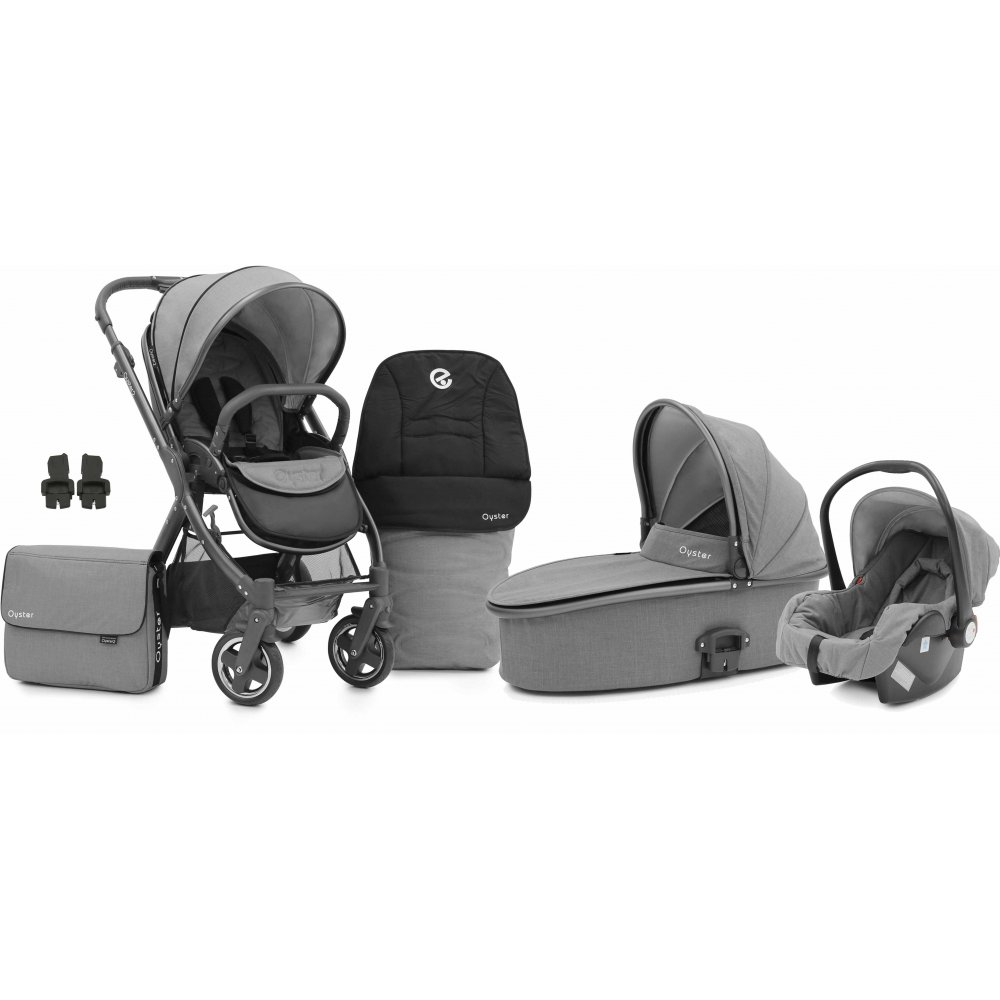 Babystyle Oyster 2 City Grey 3in1 Pram Available At W H