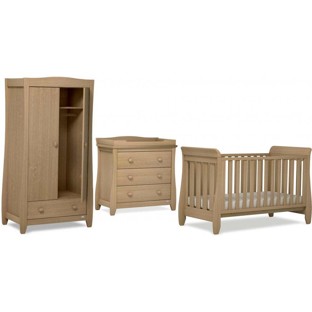 urbane sleigh 3 piece nursery furniture set by boori from. Black Bedroom Furniture Sets. Home Design Ideas