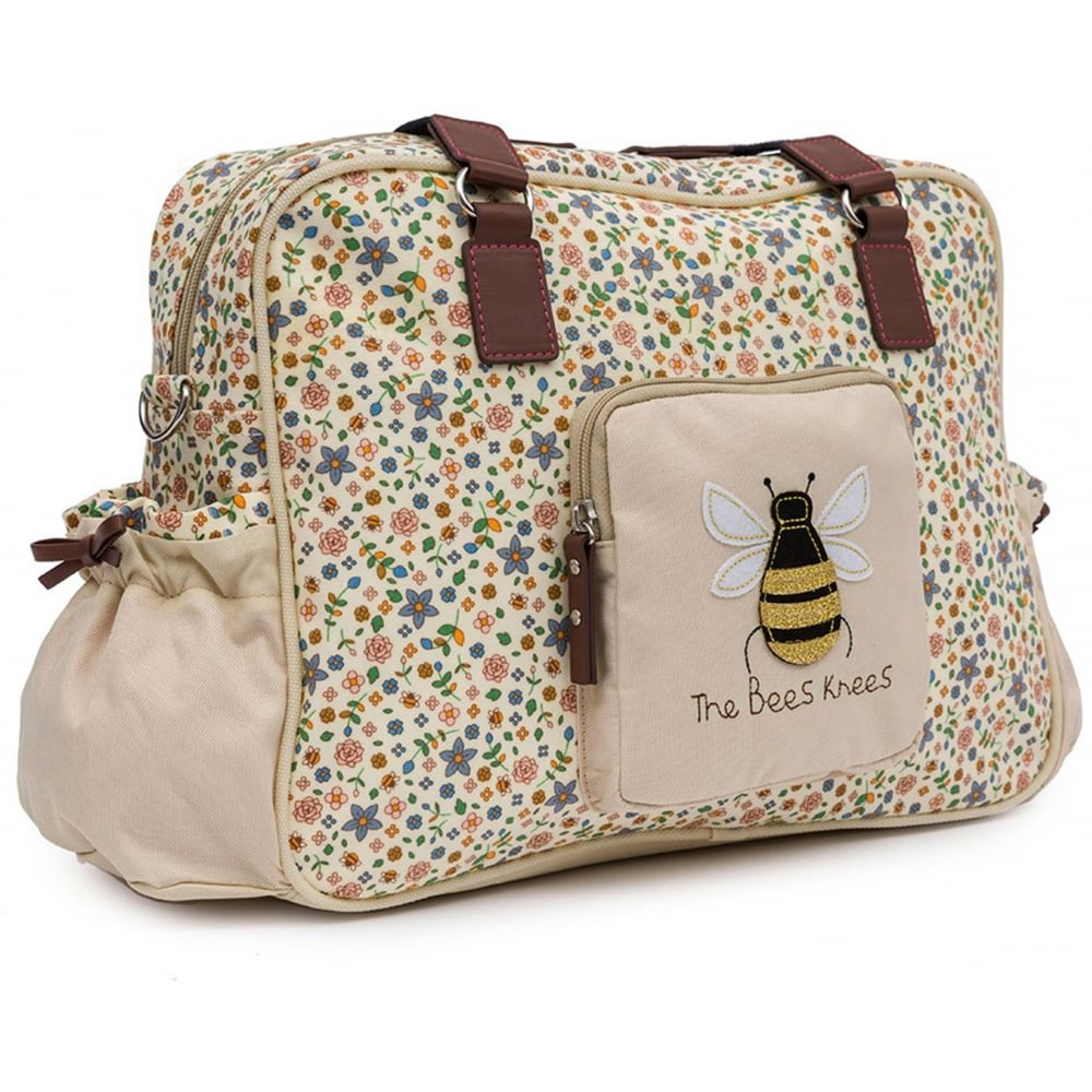 pink lining yummy mummy the bees knees changing bag at w h. Black Bedroom Furniture Sets. Home Design Ideas