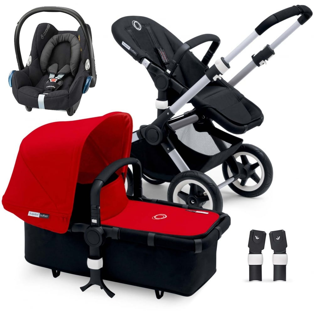 bugaboo buffalo pushchair cabriofix car seat adapters at w h watts. Black Bedroom Furniture Sets. Home Design Ideas