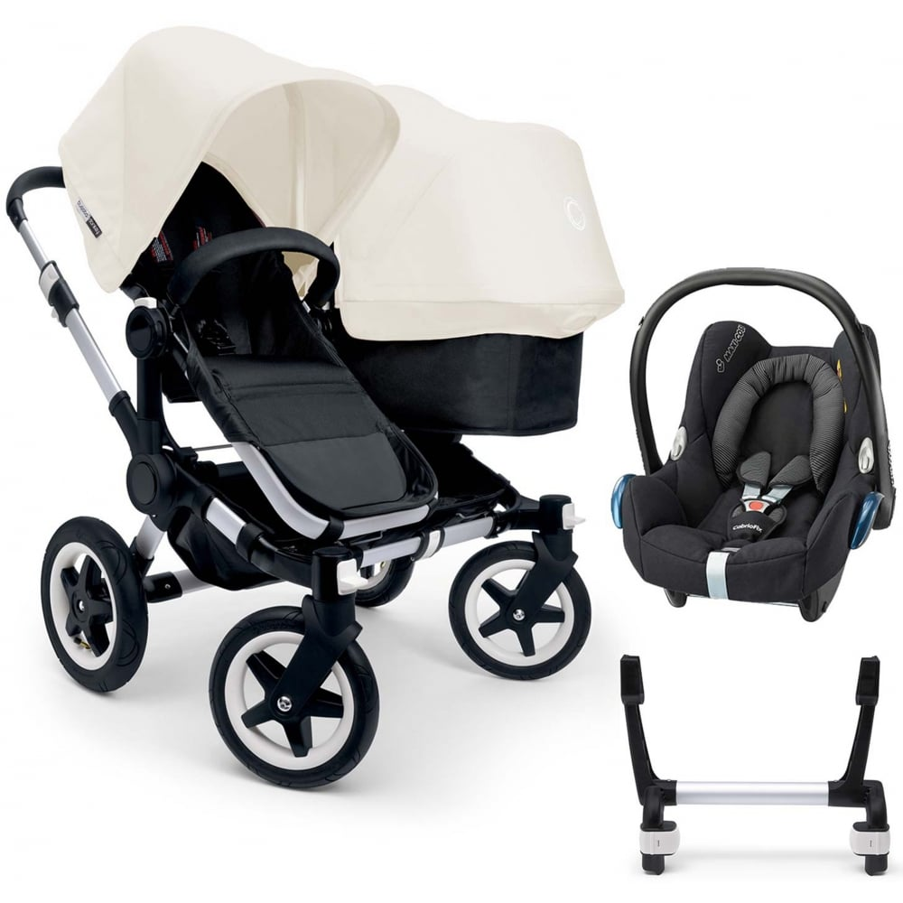bugaboo donkey duo pushchair cabriofix car seat adapters at w h watts. Black Bedroom Furniture Sets. Home Design Ideas