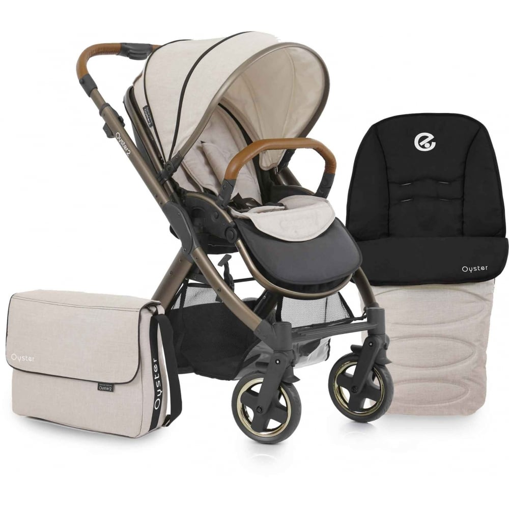 Babystyle Oyster 2 City Bronze Stroller From W H Watts