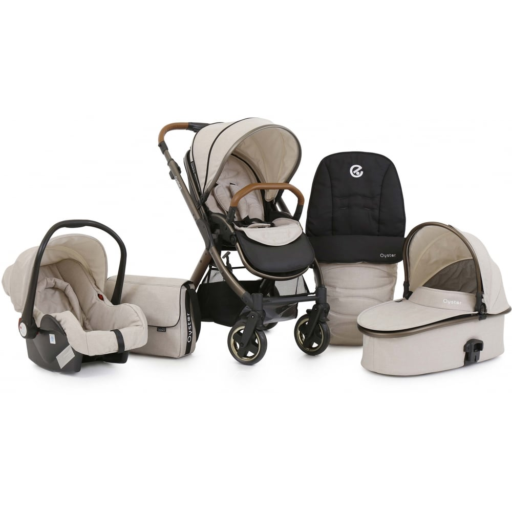 Babystyle Oyster 2 City Bronze 3in1 Pram Available At W H