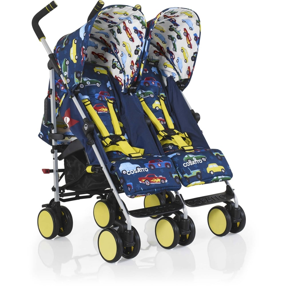 cosatto supa dupa go twin stroller rev up from w h watts pram shop. Black Bedroom Furniture Sets. Home Design Ideas