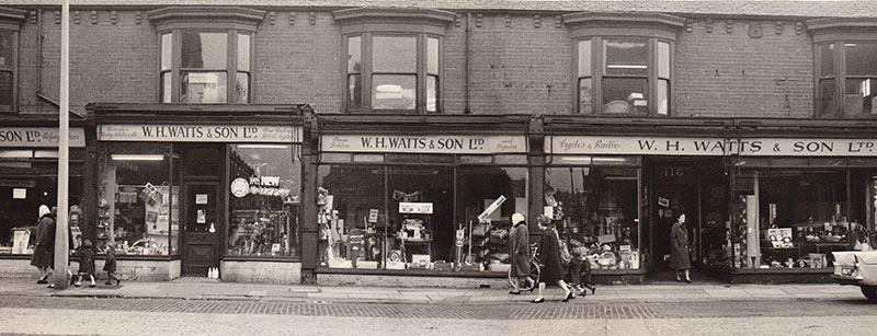 W H Watts & Son Ltd in the 1950's