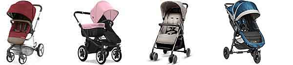 W H Watts pram selection