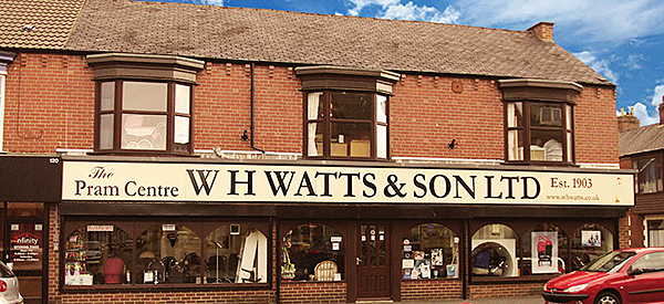 W H Watts & Son Ltd in the 1950's