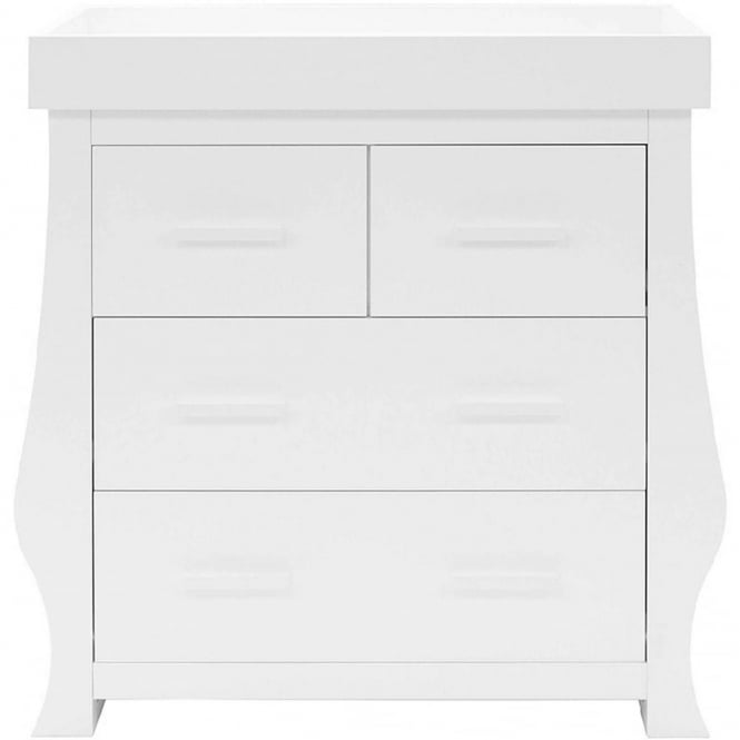 BabyStyle Hollie Dresser With Baby Changer Fresh White