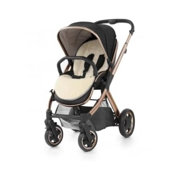 Babystyle Oyster Stroller Gold Rose Special Edition - Ink Black
