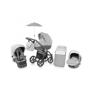 Babystyle Prestige 2 Pram Dolphin - Active Grey Chassis