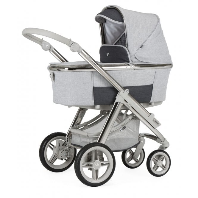Bebecar I Top Magic Combination Pram - Silver Light