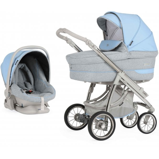 Bebecar Pack Ip-Op Classic XL Actual With Car Seat - City Blue
