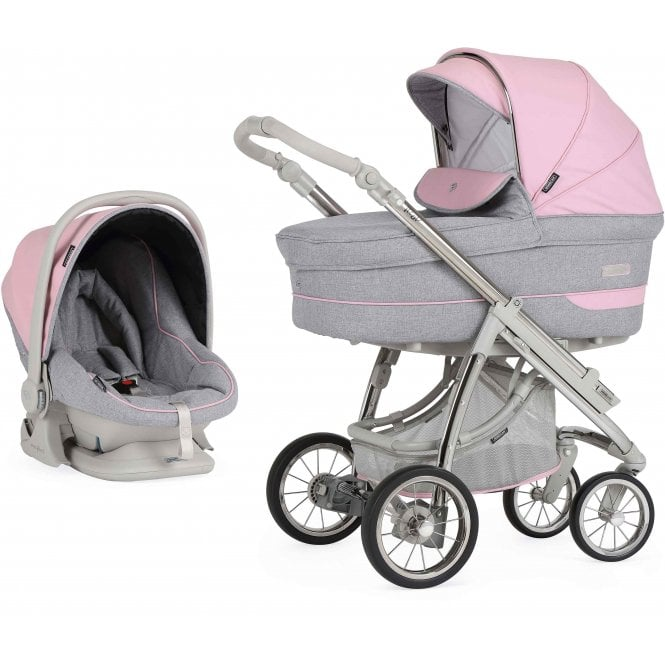 Bebecar Pack Ip-Op Classic XL Actual With Car Seat - City Pink
