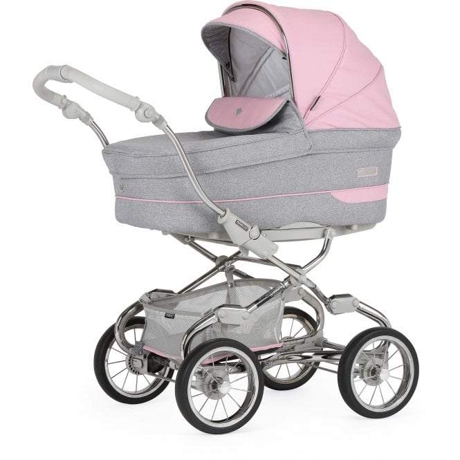 Bebecar Pack Stylo Actual Pram With Car Seat - City Pink