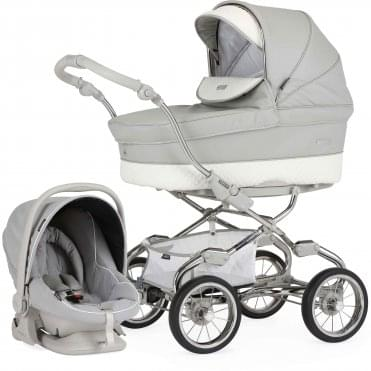 Bebecar Pack Stylo Special Pram With Car Seat