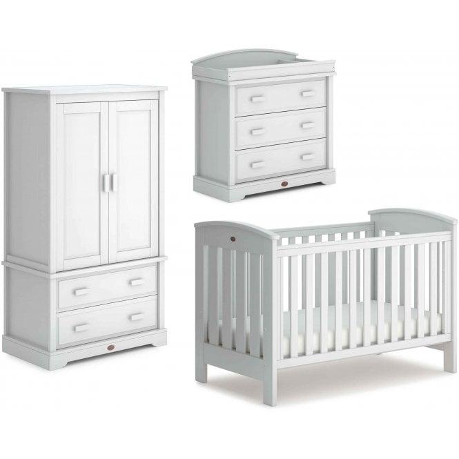 Boori Classic 3 Piece Nursery Furniture Set Barley White