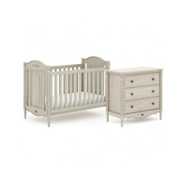 Boori Grace 2 Piece Nursery Furniture Set - Antiqued Grey