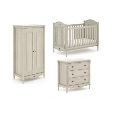 Boori Grace Nursery Furniture Set - Antiqued Grey