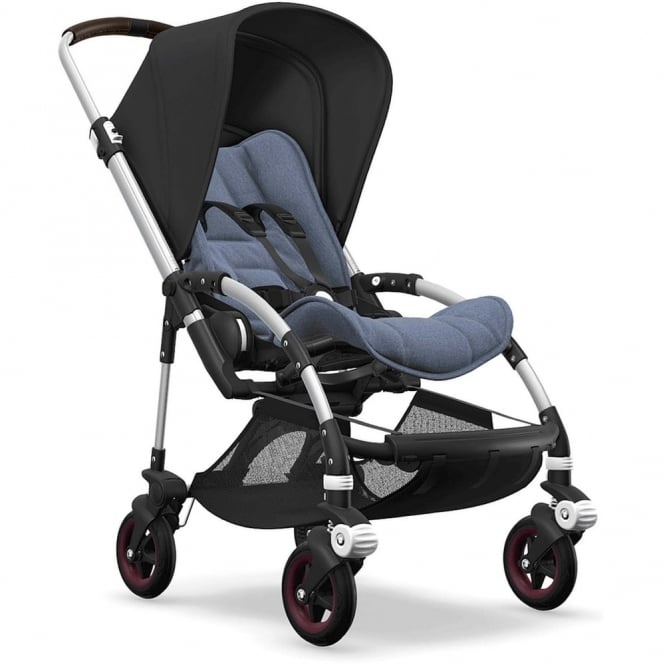 Bugaboo Bee5 Stroller - Silver Chassis - Black Canopy