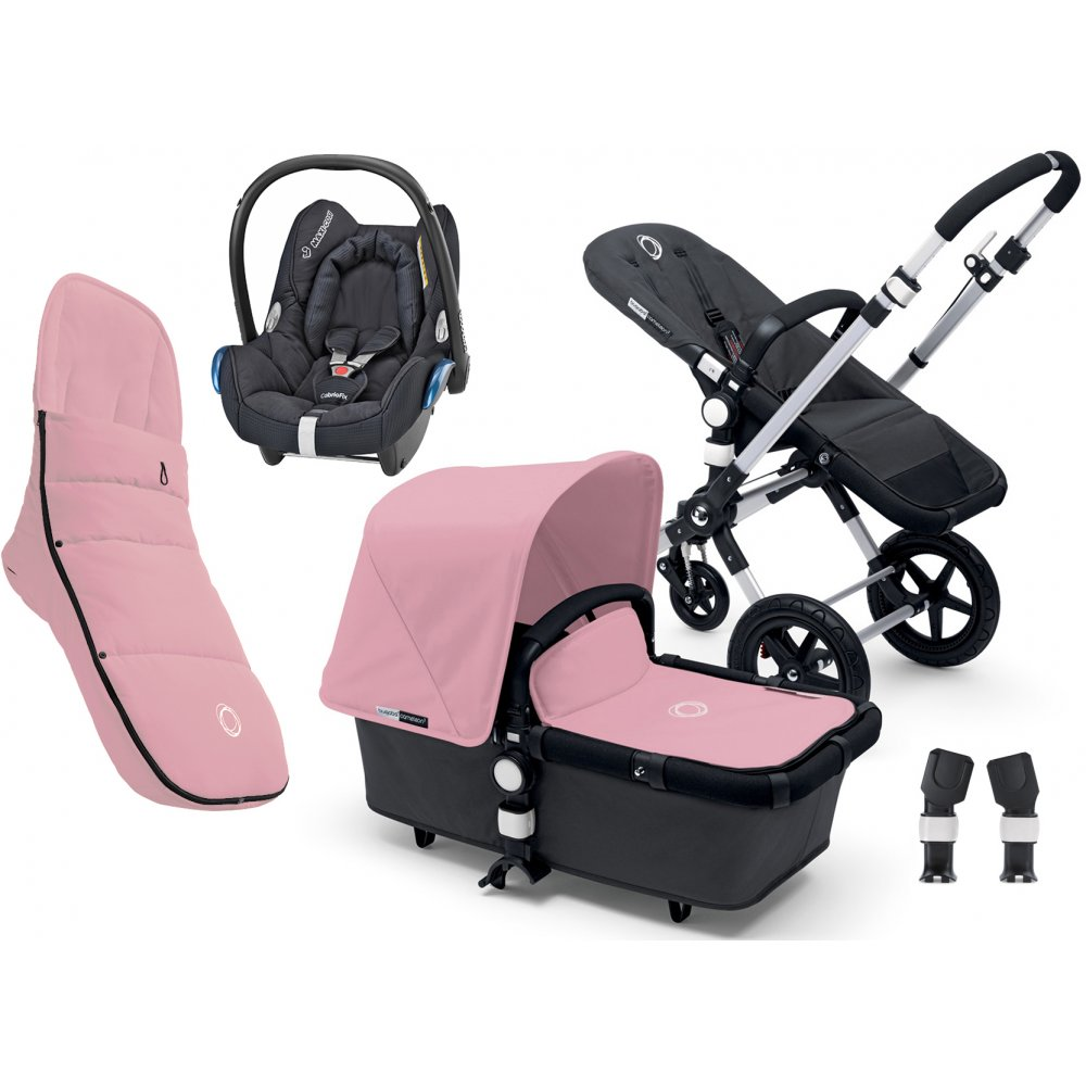 Bugaboo Cameleon 3 With Cabriofix Footmuff And Adapters