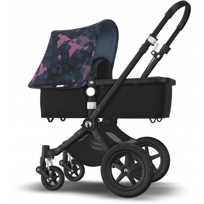 Bugaboo Cameleon 3 Plus Signature Pram - Black Base + Car Seat