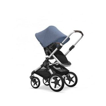 Bugaboo Fox Pram & Pushchair - Blue Melange