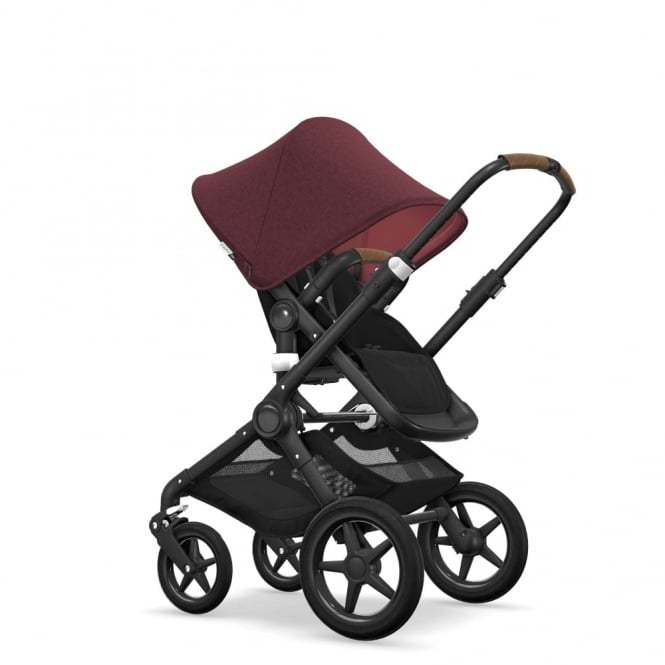 Bugaboo Fox Pram & Pushchair - Red Melange