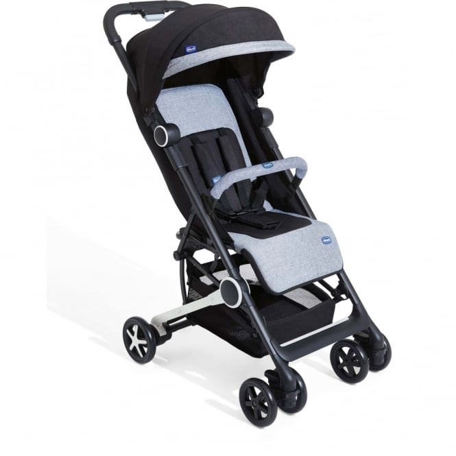 Chicco Mini.Mo 2 Stroller With Bumper Bar Black Night