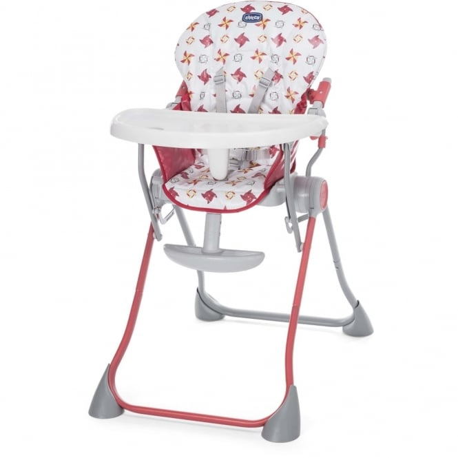 Chicco Pocket Meal Highchair Red