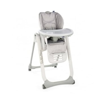 Chicco Polly2Start Highchair Happy Silver 2018