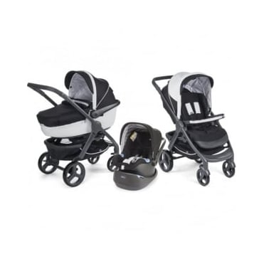 Chicco Trio StyleGo Pram Black Night