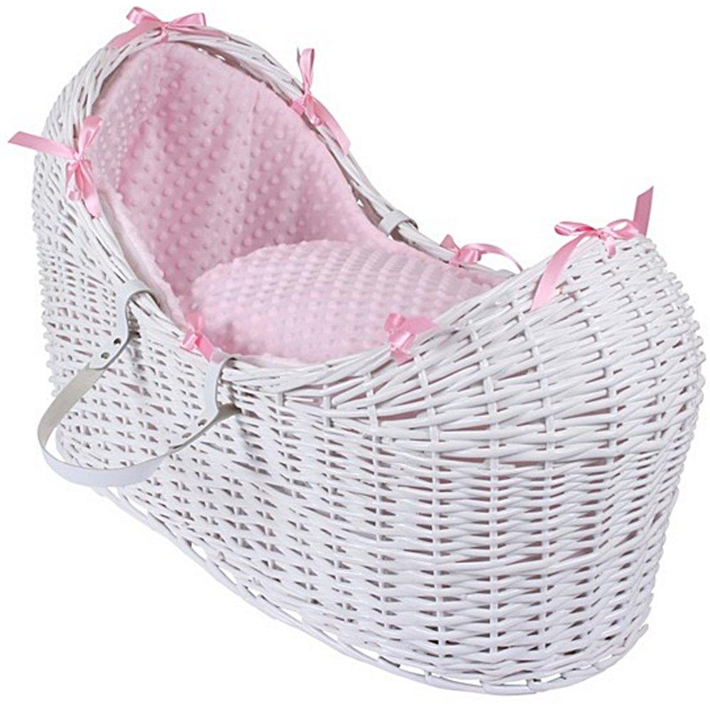 nouveau style b9ab4 3c380 Dimple Noah Pod White Wicker Basket