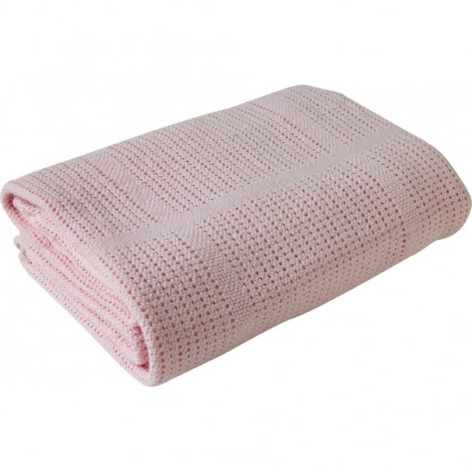Clair de lune Extra Soft Cotton Cellular Blanket
