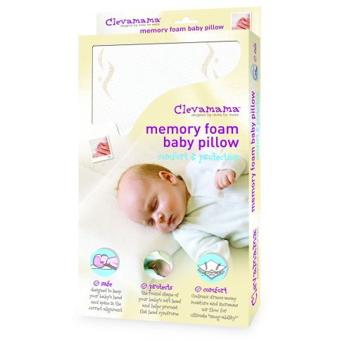 Clevamama Memory Foam Baby Pillow Bedtime From W H Watts