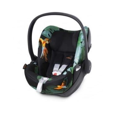 Cybex Cloud Q Fashion Edition Car Seat - Birds Of Paradise