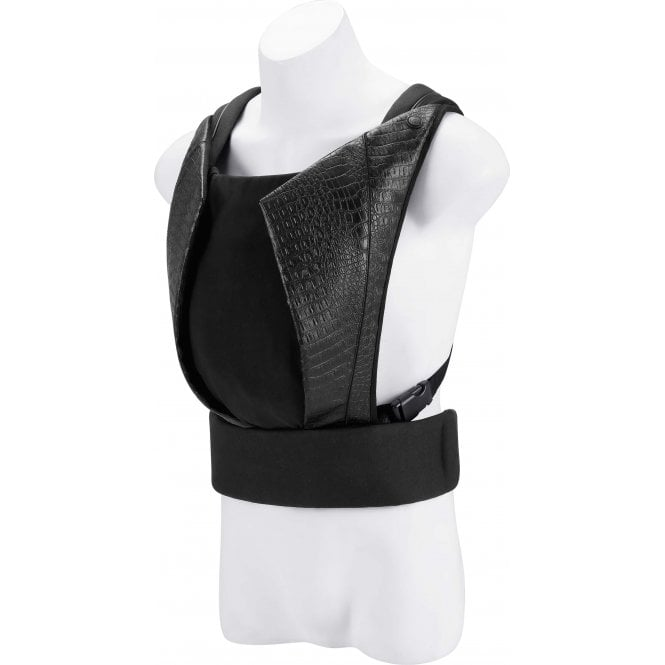 Cybex Platinum Yema Click Leather Baby Carrier - Stardust Black