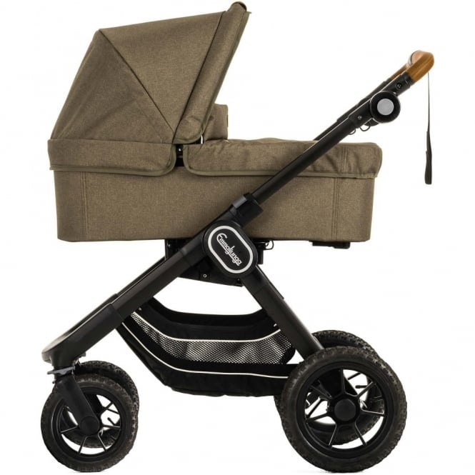 Emmaljunga NXT90 Outdoor Stroller, Go Double And Carrycot