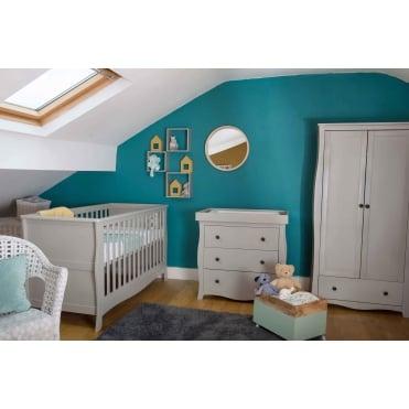 Little House Brampton Nursery Furniture Set   Grey