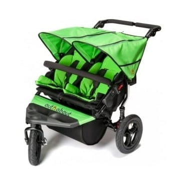 Out 'n' About Nipper Double 360 V4 Pushchair Mojito Green